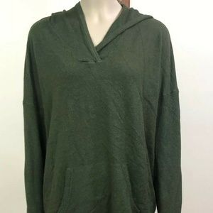 Cyrus Sweater XL Long Sleeve Green Hooded